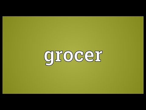 Grocer Meaning