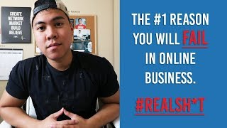 The #1 REASON YOU WILL FAIL In Online Business! Amazon FBA, Dropshipping, Shopify, SMMA, etc!