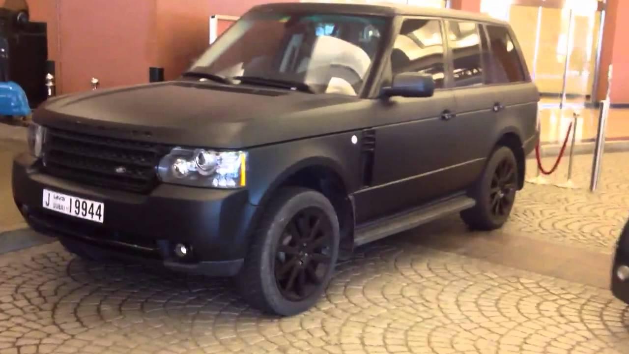 Matte Black Range Rover Youtube