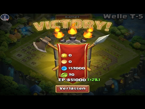 Castle Clash: HBM T Completed On Dagario's Account!