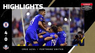 Sccl2020: Cruz Azul Vs Portmore United| Highlights