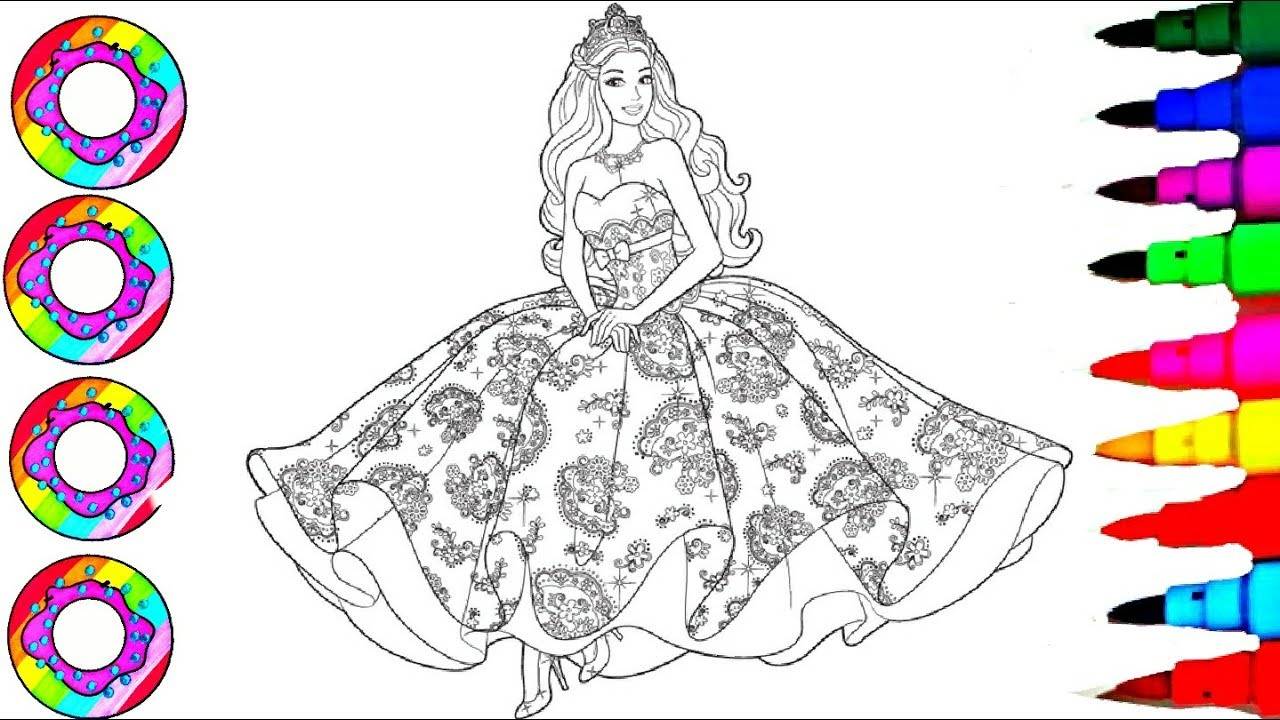 barbie coloring pages # 52