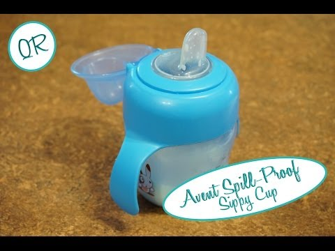 """Quick Review """"QR"""": Avent Spill-Proof Sippy Cup"""