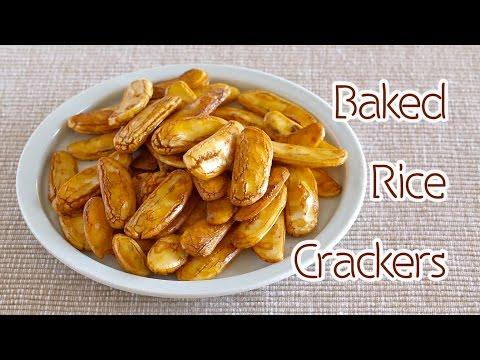 baked-okaki-/-kaki-no-tane-(rice-crackers)-柿の種風♪-焼きおかき---ochikeron---create-eat-happy