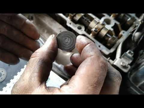 регулировка клапанов Mazda 626 2.0 FS
