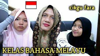 ORANG INDONESIA BELAJAR DAN BERCAKAP BAHASA MELAYU UNTUK PERTAMA KALI EPISOD 1