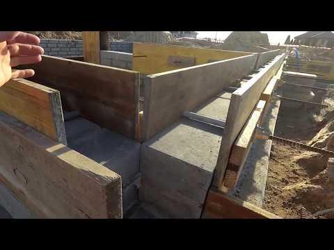 Budowa bez błędów - Cz. 6 - Ściana fundamentowa i wieniec