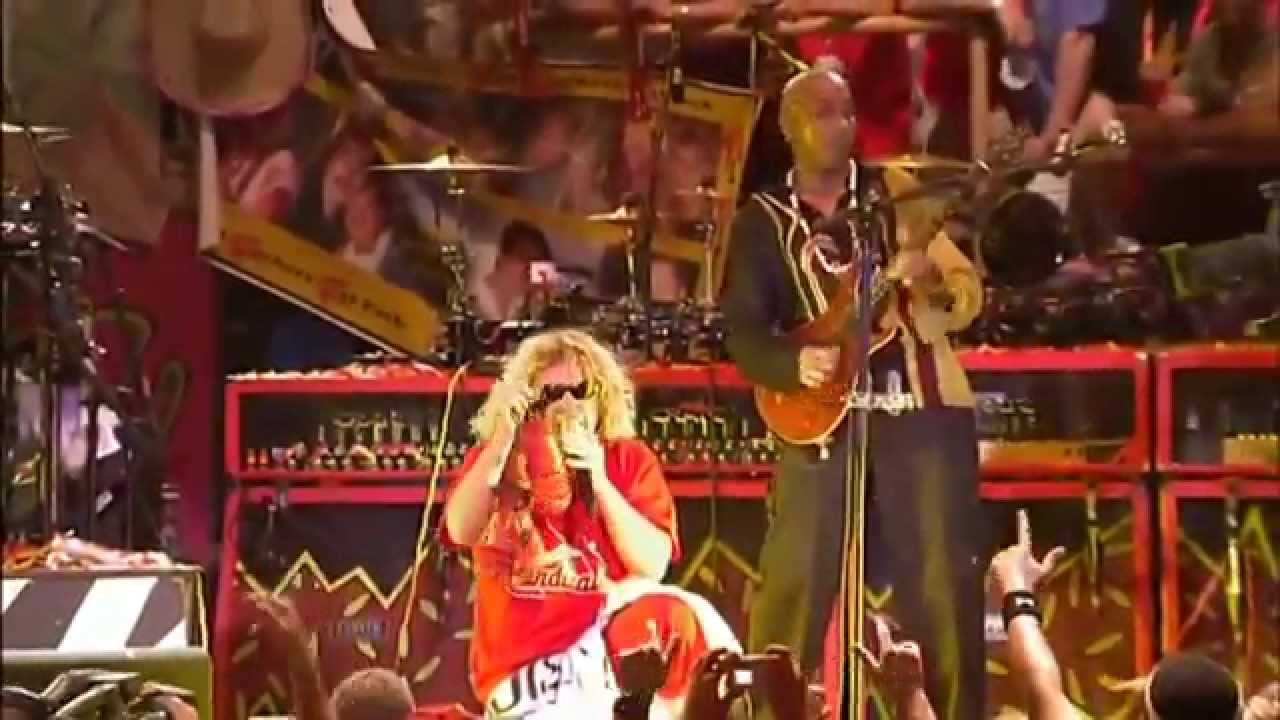 sammy hagar the wabos rock candy from livin 39 it up live in st louis youtube. Black Bedroom Furniture Sets. Home Design Ideas