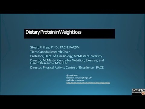 Dietary Protein in Weight Loss: Advantage Protein by Stuart Phillips, PhD