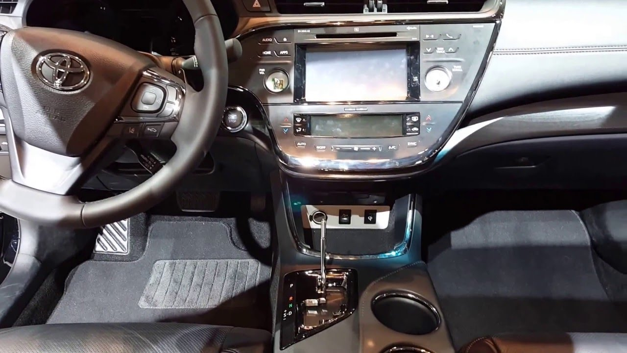 2016 Toyota Avalon Limited Interior Walkaround Price Site Cars You
