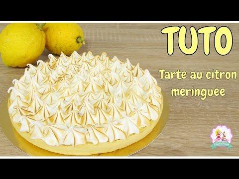 ♡•-recette-tarte-au-citron-meringuÉe---pÂte-brisÉe---meringue-italienne-•♡