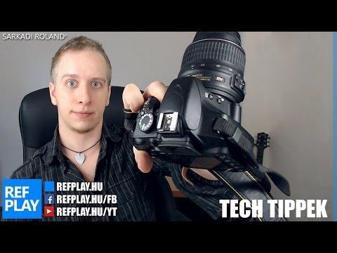 Videósoknak NIKON D3200 bemutató, teszt, unboxing   TECH TIPPEK   REFPLAY