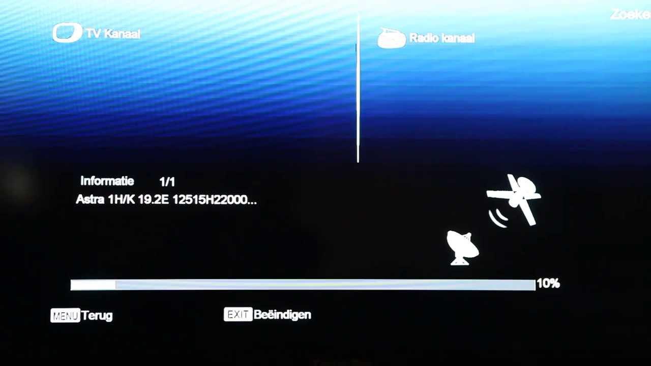 Zenderlijst vernieuwen Amiko 8200/8300/8400 serie Amiko mini HD