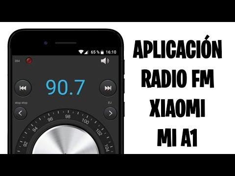 APP RADIO FM PARA EL XIAOMI MI A1 (ROOT)