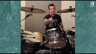 It doesn't get cooler than Tré Cool from Green Day teaching