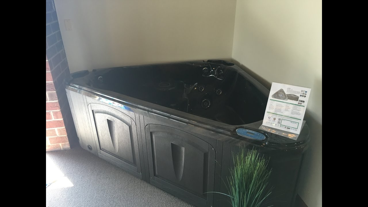 Look at this triangle hot tub! - YouTube