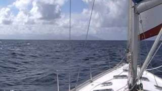 Leeward Island sailing from Marie Gallant to Dominica
