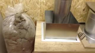 Как сделать пожаробезопасным проход дымохода через потолок или стену!