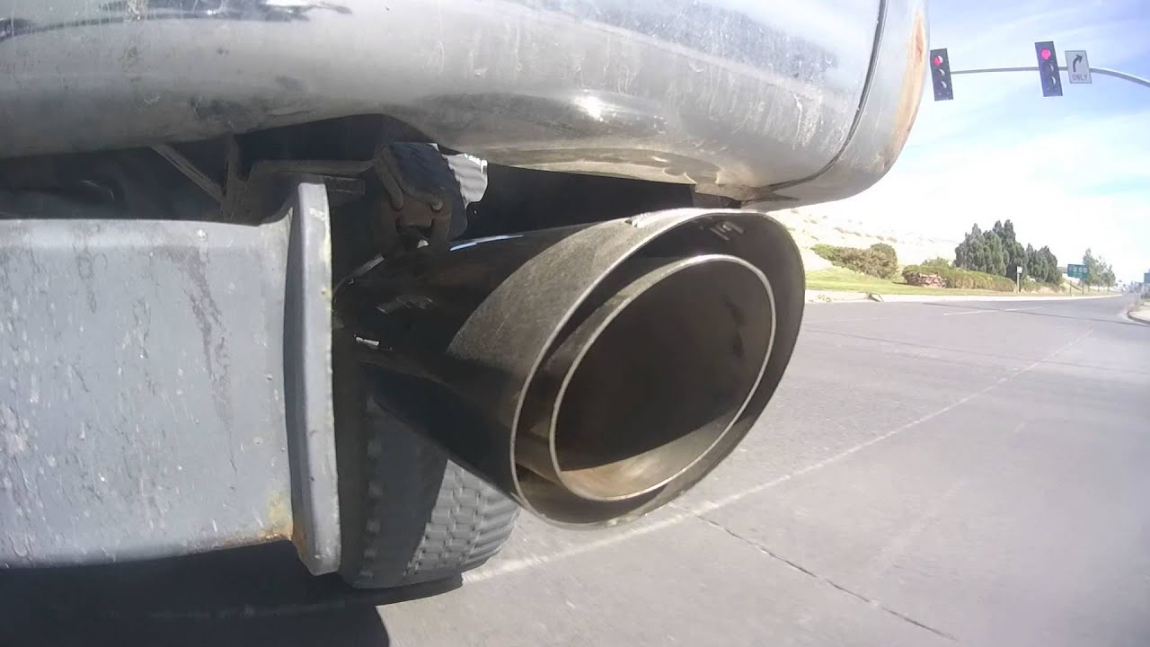 1998 4runner with borla cat back exhaust