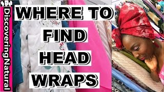 Where to Find Headwraps and Scarves | Natural Hair