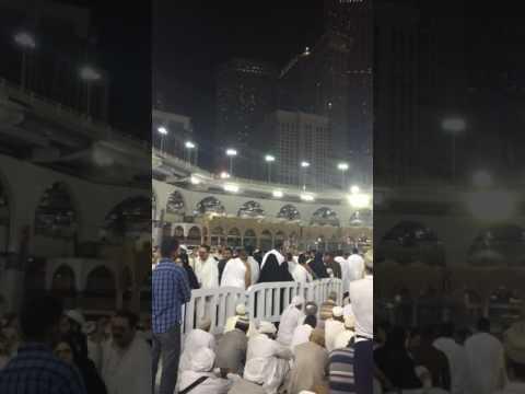Adzan subuh masjid al haram makkah 16/04/17