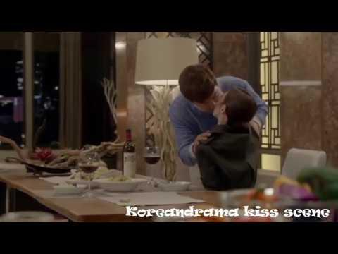 Korean Drama Kiss Scene Joo Jin Mo Kiss Kim Sa Rang