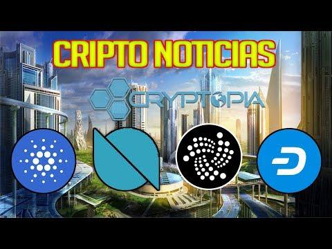 ✅Noticias Criptomonedas: Cardano, IOTA, Dash, Ontology y Cryptopia...