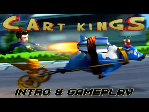 Cart Kings - INTRO & Gameplay Moments PS2 HD