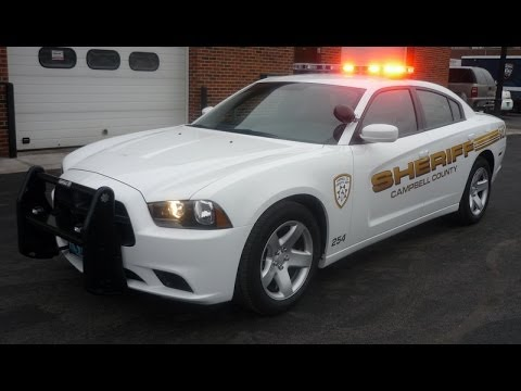 Campbell Co Sheriff, WY 2012 Charger