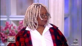 """Whoopi Goldberg Wraps Taping for """"The Stand"""" and Gets a Haircut! 