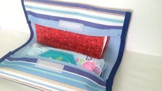Make A Diaper Clutch From A Placemat - Diy  - Guidecentral