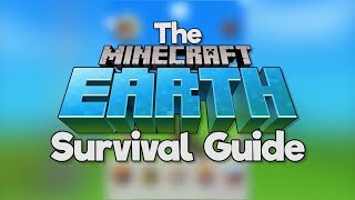 The Minecraft Earth Survival Guide! ▫ Gameplay & Features Overview [Part 1]