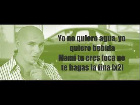 Pitbull - Ay Chico (Lengua Afuera) Lyrics (Video with lyrics/ letras) HQ