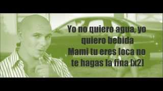 Pitbull - Ay Chico (Lengua Afuera) Lyrics (Video with lyrics/ letras) HQ
