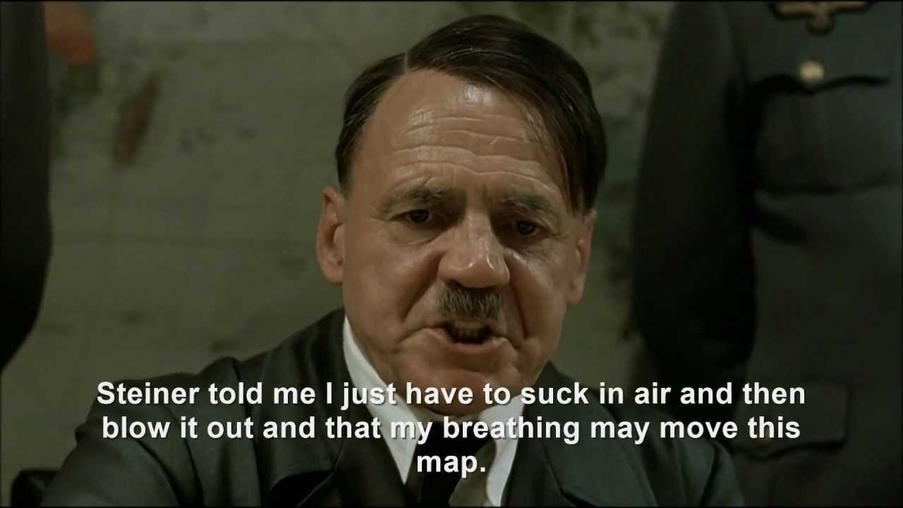 Hitler plans to breathe