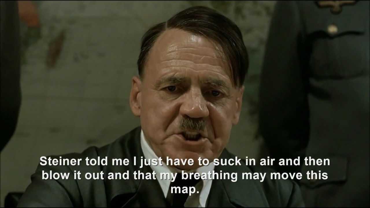 Hitler plans to breathe