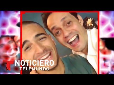 Maluma le gasta una broma a Marc Anthony   Noticiero   Noticias Telemundo