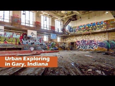 Urban Exploring in Gary, Indiana