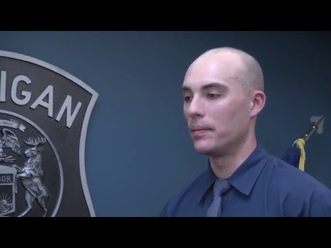 A Day in the Life of a Michigan State Police Trooper Recruit