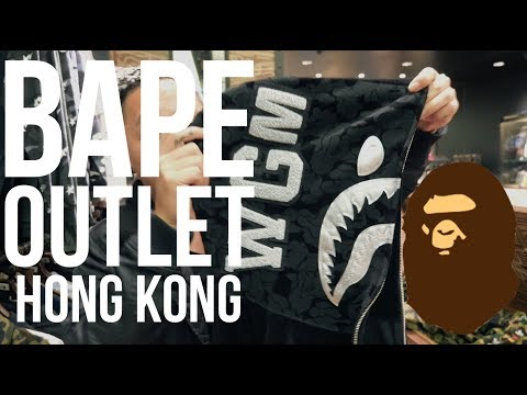 BAPE OUTLET! || HONG KONG