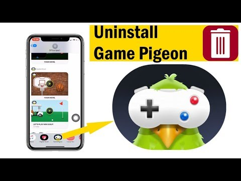 How To Uninstall Game Pigeon From IMessage On IPhone And IPad: (2019) IOS 12 Or Later