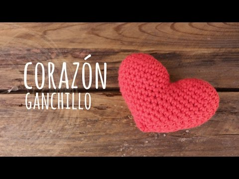 Tutorial Corazón Amigurumi Heart (English subtiltes) Videos De Viajes
