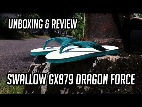 SWALLOW GX879 DRAGON FORCE - UNBOXING & REVIEW