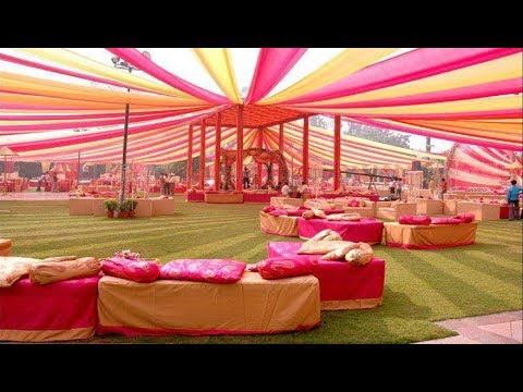 decorating a wedding tent 30 beautiful tent decoration ideas 3358