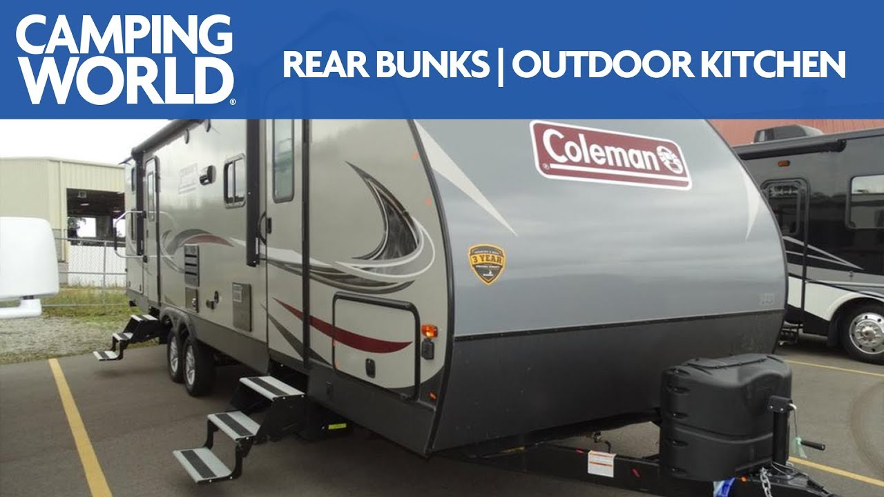small resolution of 2019 coleman light 2835bh bunkhouse travel trailer rv review camping world