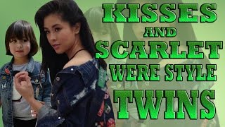 Kisses Delavin and Scarlet Snow Belo Were Style Twins