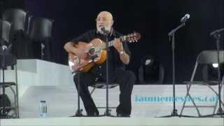 L'EMIGRANT. Canta PERET. Concert per la Independència