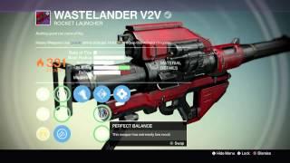 "Destiny: Legendary Review ""Wastelander V2V"""