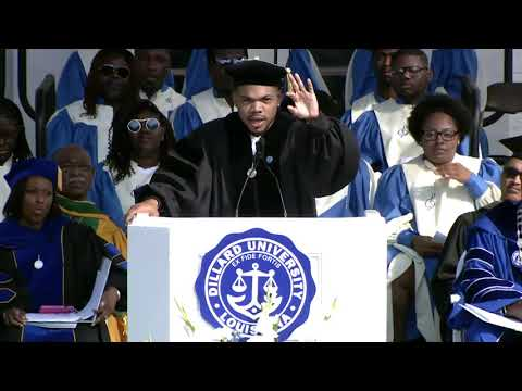 Chance the Rapper's Dillard Commencement Speech