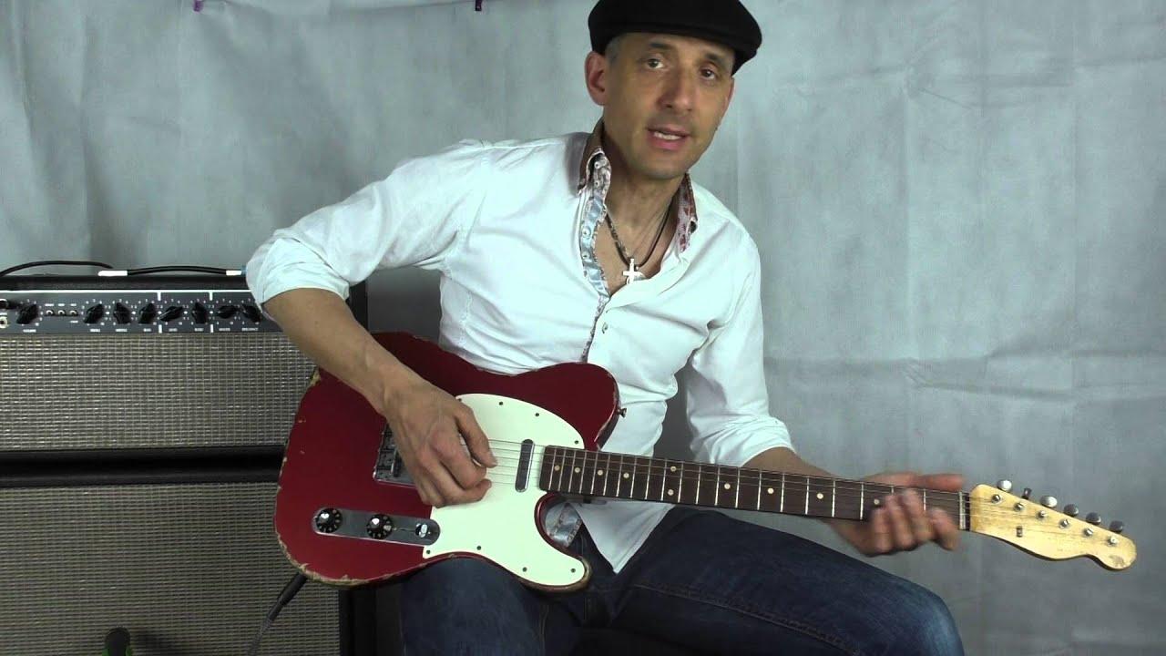Muddy Waters Fender Telecaster John Cruz custom shop and ...